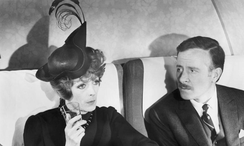 Powell won an Oscar for Travels With My Aunt, 1972, starring Maggie Smith and Alec McCowen.