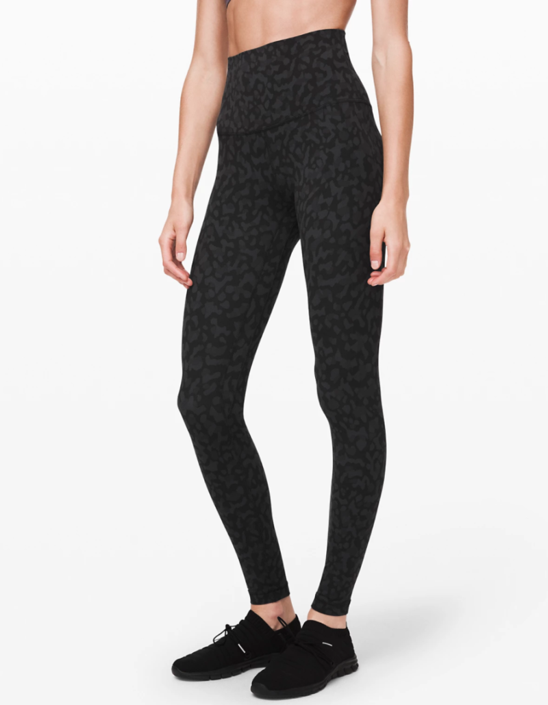 Lululemon Align Super High-Rise Pant in Formation Camo Deep Coal Multi.