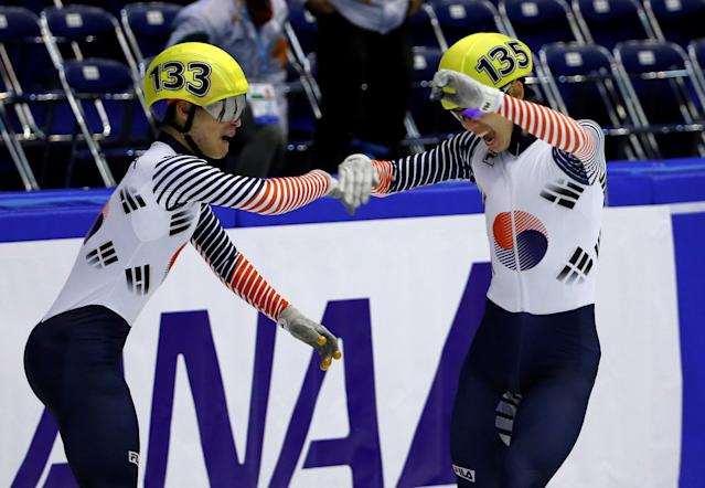 South Korea has a long line of success in short track speed skating. (Reuters)