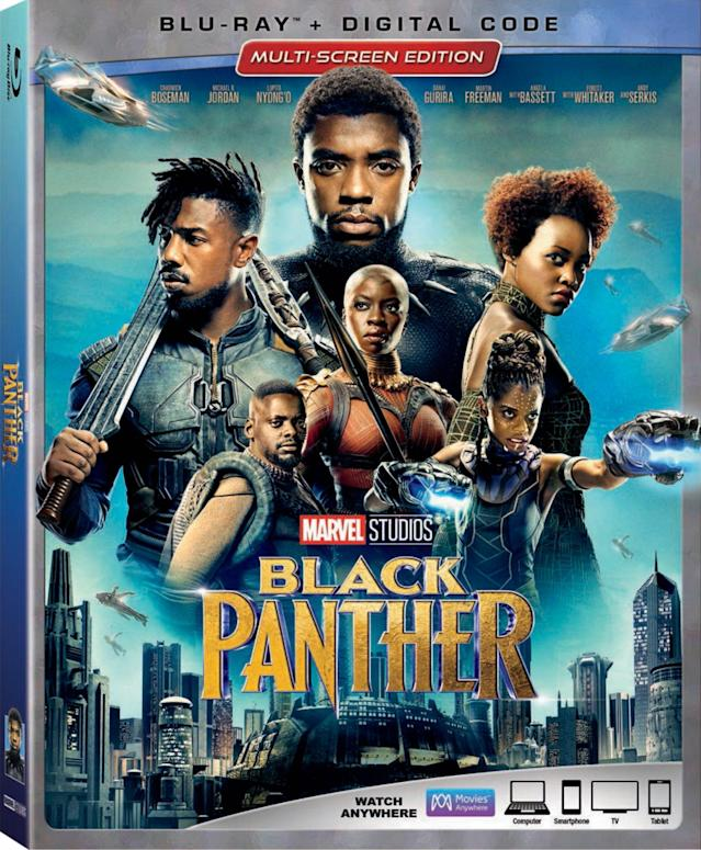 Cover art for the <em>Black Panther</em> multiscreen edition. (Photo: Disney)