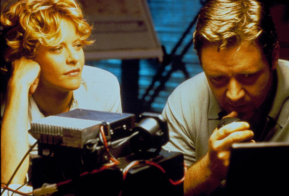 'Proof of Life' (2000) – Meg Ryan & Russell Crowe After Russell Crowe stuck his angry Australian nose into Meg Ryan and Dennis Quaid's personal life, there really was no proof of life left in it. The pair's nine-year marriage came to an end officially in July 2001. In an interview around the time, the actress claimed that her husband Dennis had been unfaithful throughout most of their time together. Meg and Russell didn't last long and the 'Sleepless in Seattle' actress went on to break up US singer John Mellencamp's marriage. Oh, Meg!