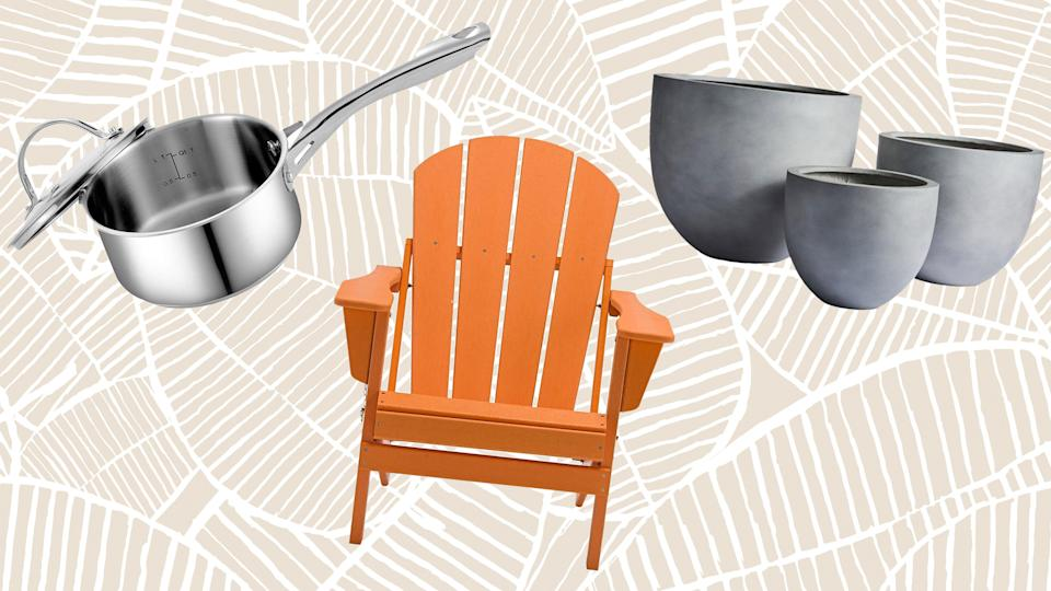 Shop savings across housewares, outdoor furniture and décor at Overstock's Fourth of July sale.