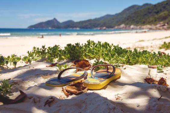 Havaianas are the quintessential Rio purchase (Getty Images)