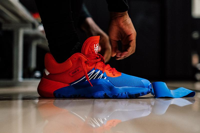 Adidas x Marvel's Signature Shoe for NBA Star Donovan