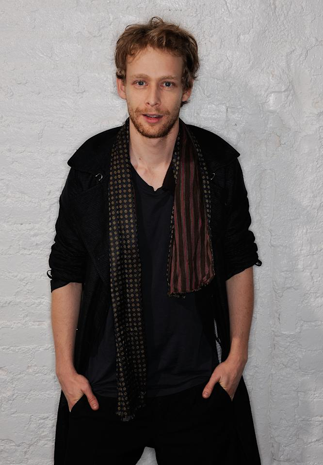 NEW YORK, NY - APRIL 23:  Actor Johnny Lewis visits the Tribeca Film Festival 2011 portrait studio on April 23, 2011 in New York City.  (Photo by Larry Busacca/Getty Images for Tribeca Film Festival)
