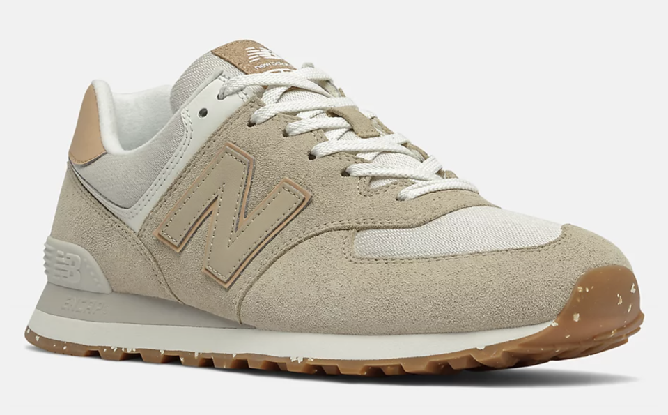 A front view of the New Balance 574. - Credit: Courtesy of New Balance