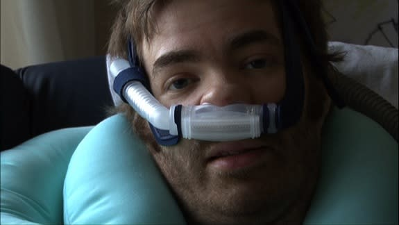 Film Shows One Man's Battle with Lou Gehrig's Disease
