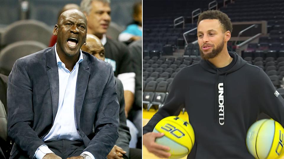 Steph Curry has brushed off MJ's Hall of Fame comments.