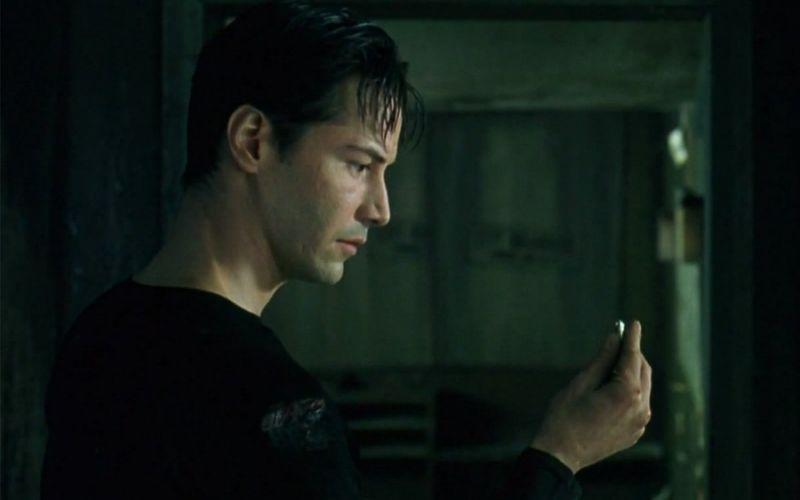 Keanu Reeves in 'The Matrix' (Warner Bros.)