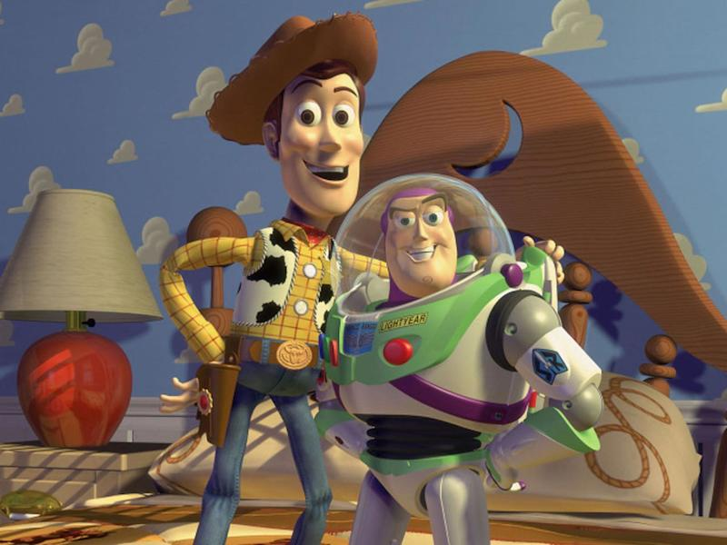 Woody and Buzz. (Pixar)