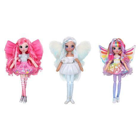 "<p>These 14"" dolls come with an important job: They each have a pocket where kids can store their wishes, and the fairies will guard them. Each doll has its own colors and personalities, but the Stella doll (center) is extra special and comes with light-up wings.</p><p><em>Ages 5+<br>$20 – $30<br>Available Summer 2021</em></p>"