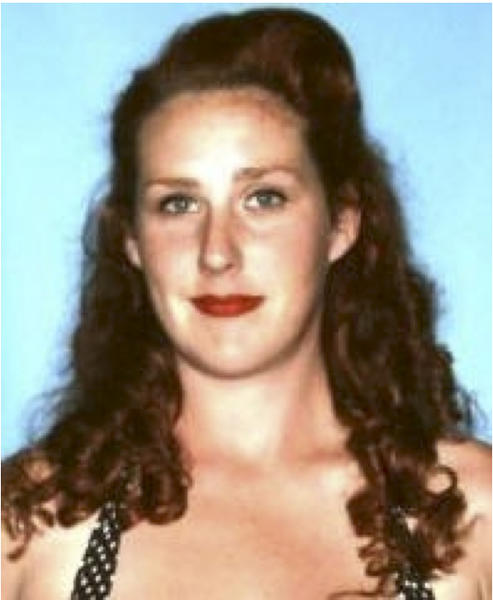 This undated photo released by the Maui Police Department shows Carly Scott. Police have located the torched shell of a missing pregnant Maui woman's sport utility vehicle. But Carly Scott remains missing. Police say the 27-year-old redhead was last seen Sunday at her sister's Haiku home. (AP Photo/Maui Police Department)