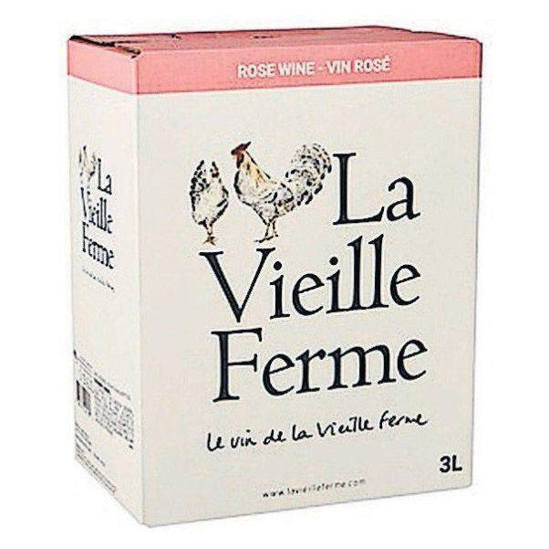 "<p>moraswines.com</p><p><strong>$26.99</strong></p><p><a href=""https://moraswines.com/product/la-vieille-ferme-rose-french-pink-wine-3-liter-box/"" rel=""nofollow noopener"" target=""_blank"" data-ylk=""slk:Shop Now"" class=""link rapid-noclick-resp"">Shop Now</a></p><p><a href=""https://www.prevention.com/food-nutrition/g33025044/best-rose-wine/"" rel=""nofollow noopener"" target=""_blank"" data-ylk=""slk:Rosé lovers"" class=""link rapid-noclick-resp"">Rosé lovers</a> will adore the ripe strawberry, cherry, and pretty floral notes in this classic southern Rhone blend. Featuring a juicy blend of Cinsault, Grenache, and Syrah, La Vieille Ferme Rosé is a brilliant choice for spring, summer—whenever the sun's shining.</p>"