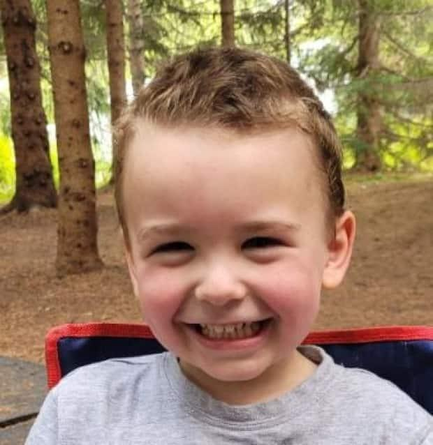 Jake Côté, 3, was abducted in Sainte-Paule, Que., about 630 kilometres northeast of Montreal, according to Quebec provincial police. (Submitted by Sûreté du Québec - image credit)