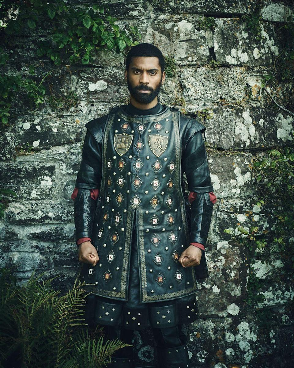 <p>Aaron Cobham, who is known for his roles of Lee on <em>Coronation Street</em> and Jules Watson on <em>Cold Feet</em>, appears in <em>The Spanish Princess</em> as Oviedo, a crossbowman and practicing Muslim, who was the real-life love interest of Catalina. </p>