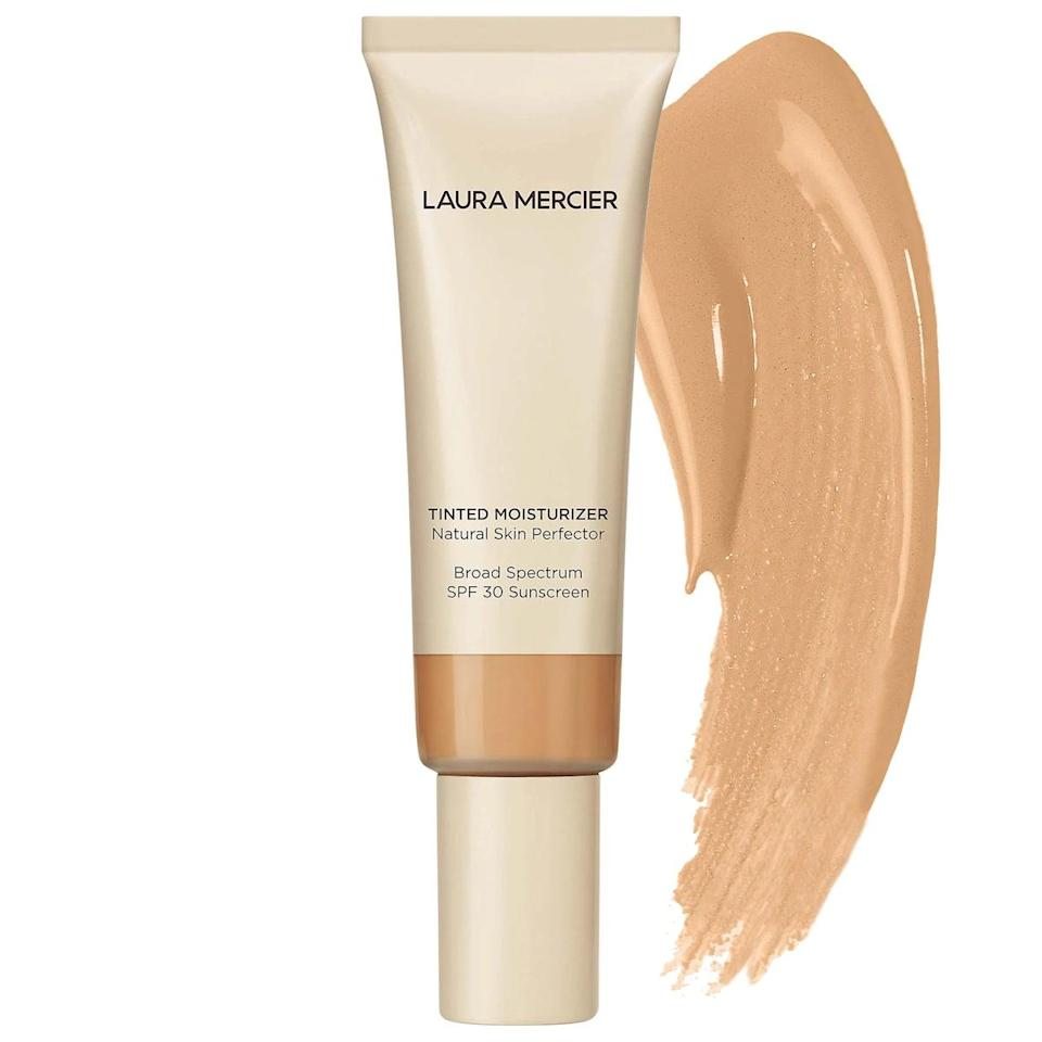 <p>Consider the <span>Laura Mercier Tinted Moisturizer SPF 30</span> ($47) the OG tinted moisturizers. It offers light coverage and a healthy glow, like looking at your best skin ever.</p>