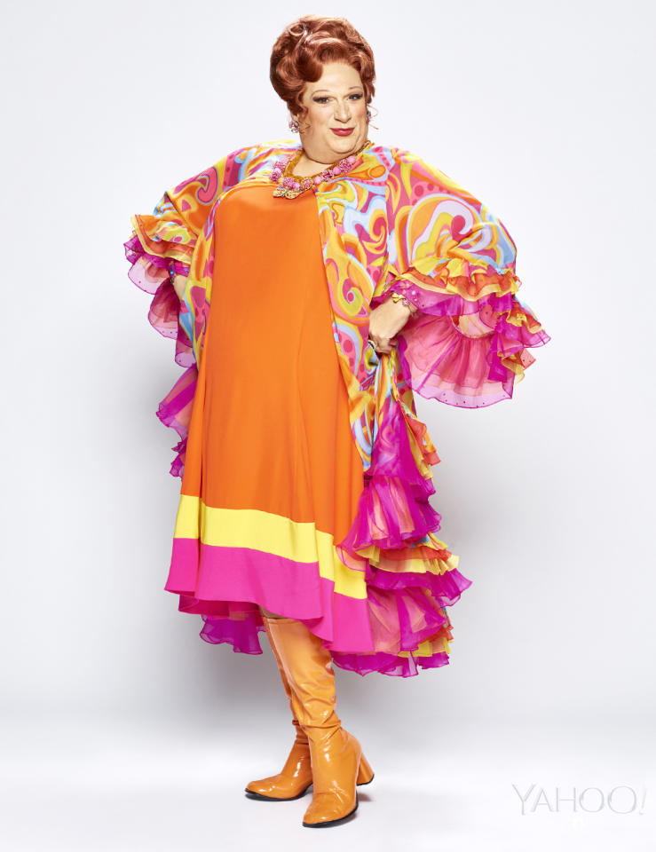 <p>Harvey Fierstein reprises his Broadway role as Edna Turnblad, Tracy's overweight and agoraphobic mother. She is ashamed of her appearance but learns to embrace being big and beautiful. <br /><br />(Photo: Brian Bowen Smith/NBC) </p>