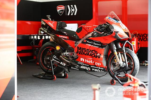 """Andrea Dovizioso, Ducati Team's Ducati <span class=""""copyright"""">Gold and Goose / Motorsport Images</span>"""