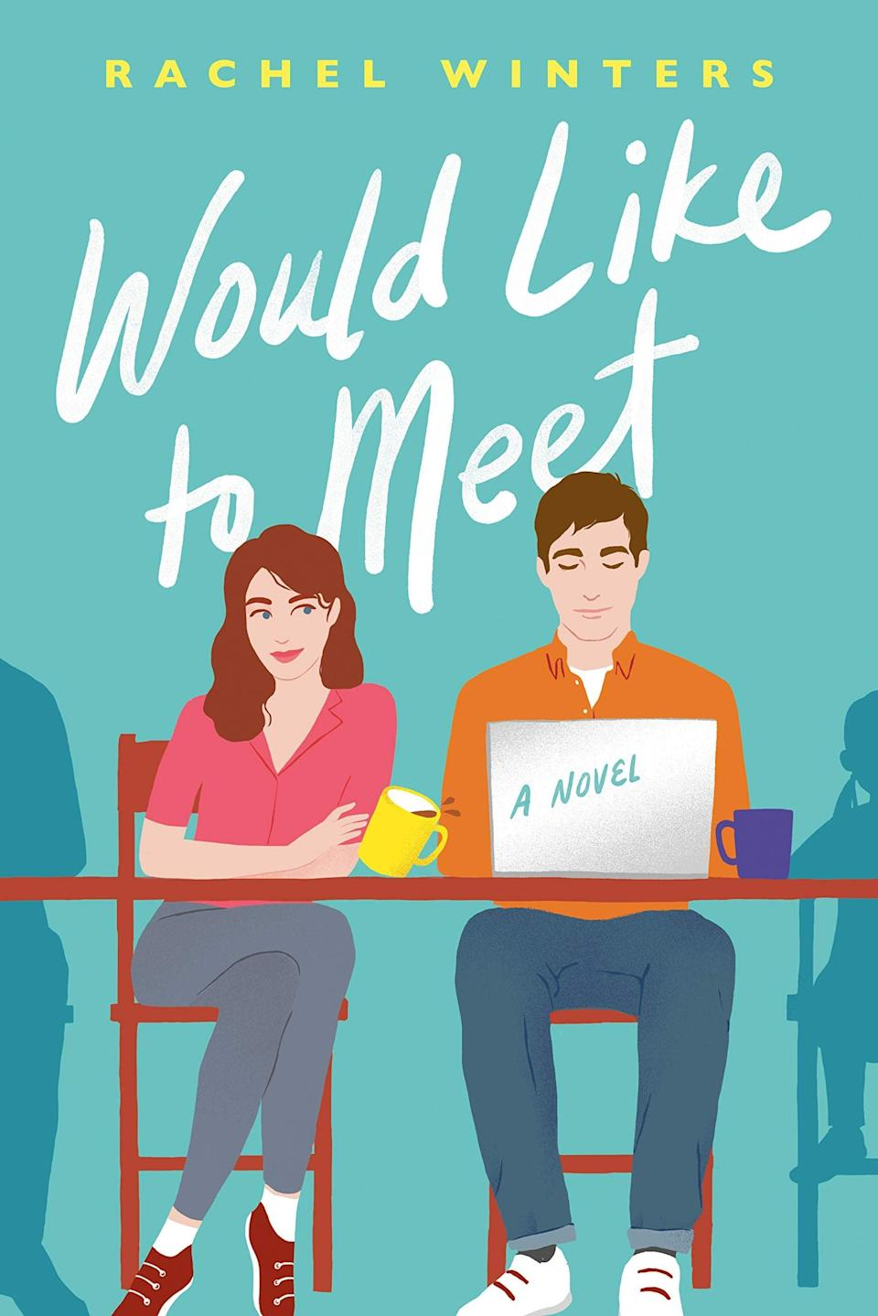 <p>You can't get more meta than a rom-com about the making of a rom-com - but that's what makes this one so fun. In <span><strong>Would Like to Meet</strong> by Rachel Winters</span> ($13), Evie is an assistant working at a talent agency that manages an up-and-coming screenwriter contracted to write a rom-com screenplay. The only problem? He doesn't believe in rom-coms. To prove him wrong and help with his writer's block, Evie sets out to reenact the most memorable meet-cutes all across London, inspired by her favorite classic films.</p> <p>I love how this story uses the tropes and clichés we all know and love from rom-coms and deconstructs them, while still essentially being a rom-com itself. It's warm, funny, and delightfully unexpected.</p>