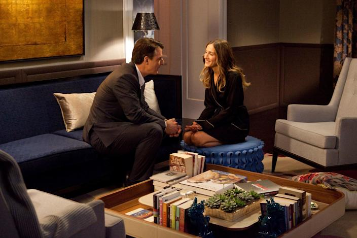 The 2010 movie Sex and The City 2 shows Carrie and Mr. Big living in a stylish, grown-up apartment.