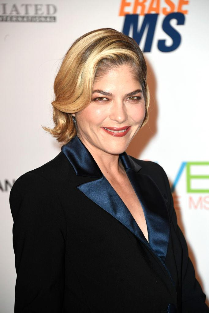 Selma Blair has announced she's currently in remission from MS. (Image via Getty Images)