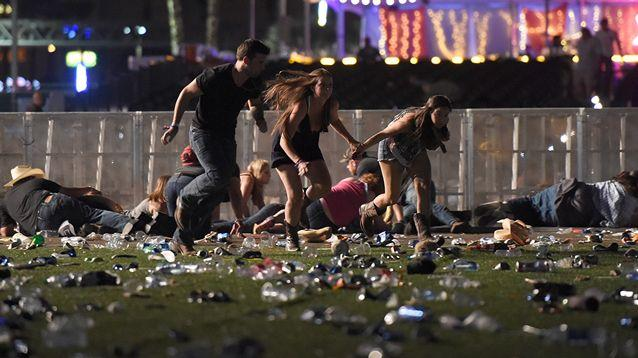 Festival goers near the scene. Source: Getty Images