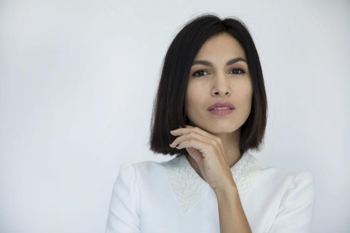 """FILE - Elodie Yung poses for a portrait in New York on Aug. 1, 2017. Yung stars in the new series """"The Cleaning Lady,"""" premiering midseason on Fox. (Photo by Amy Sussman/Invision/AP, File)"""
