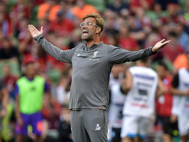 Jurgen Klopp and Liverpool are prepared to go right at defending Premier League champion Manchester City. (The Independent)