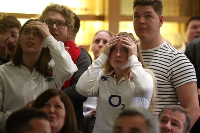 In pictures: England agony as South Africa win Rugby World Cup