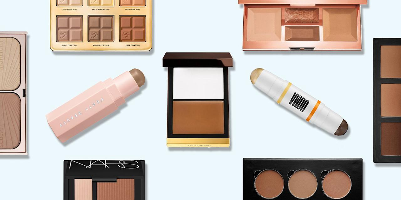 "<p><a href=""https://www.elle.com/uk/beauty/make-up/a34420/how-to-contour/"" target=""_blank"">Contouring</a> - make-up artists like Mario Dedivanovic and Charlotte Tilbury have made a living out of it and no <a href=""https://www.elle.com/uk/beauty/make-up/g31852/designer-makeup-bags/"" target=""_blank"">make-up bag</a> is complete without the right contour kit to create the look.</p><p>Even a backlash against over-done 'Insta face' couldn't stop us from painting on our cheekbones, and who could blame us? Lori Woodhouse, Education Director at <a href=""https://www.tomford.co.uk/beauty/"" target=""_blank"">Tom Ford Beauty</a> explains why it makes such a big difference: 'Contouring amplifies your natural beauty and helps to enhance the bone structure, finding balance and symmetry.'</p><p>Her top tip is to always find the right shade (using the wrong one is a common mistake), and to get to know your face by studying angles, 'applying the contour where the natural shadow falls under your cheekbone, enhancing that shadow'.</p><p>From creams to powders, more or less every beauty brand has jumped on the contouring bandwagon to show us that even make-up novices can achieve Kate Moss-esque cheekbones. But, with hundreds on the market, and more hitting the shelves every week, which contour kits are worth investing in?</p><p>We've rounded up the very best contour kits, so you can sculpt, chisel and shape to your heart's content. </p>"