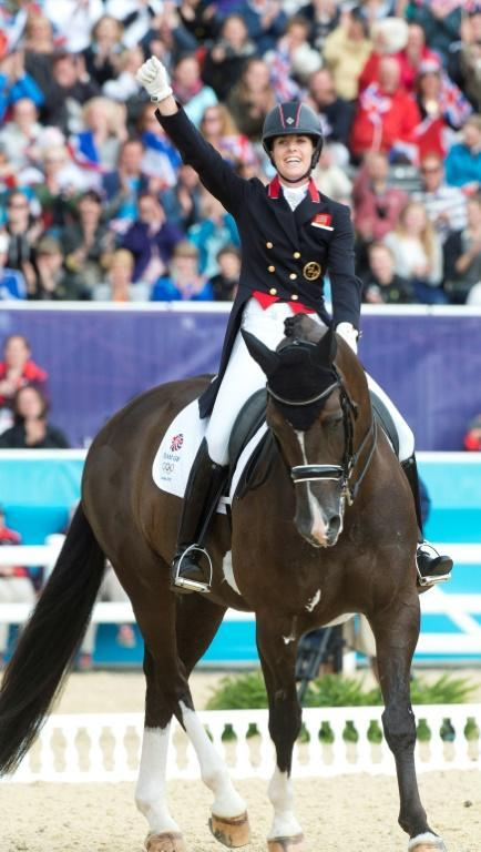 Charlotte Dujardin has six Olympic medals