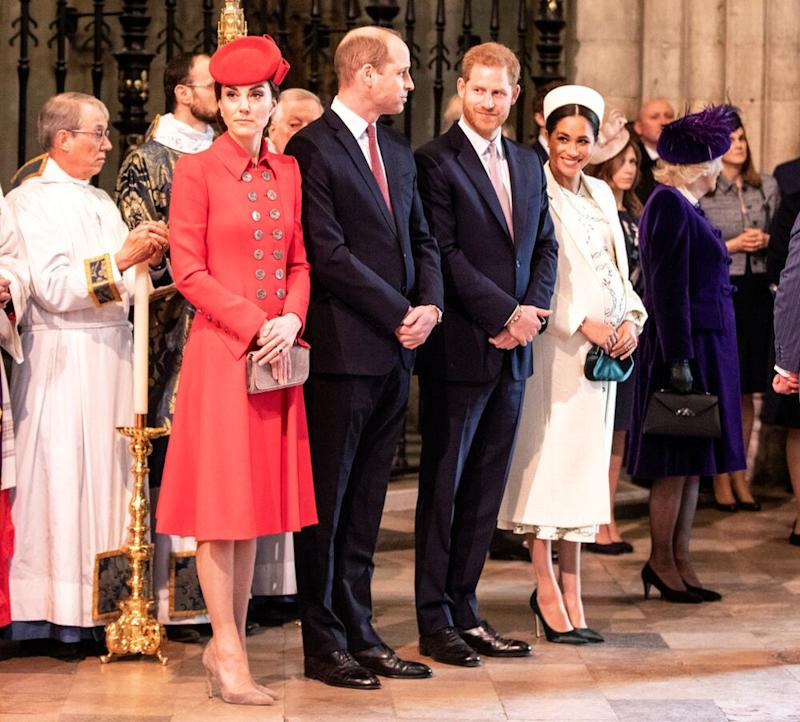 Kate Middleton, Prince William, Prince Harry and Meghan Markle | Richard Pohle - WPA Pool/Getty