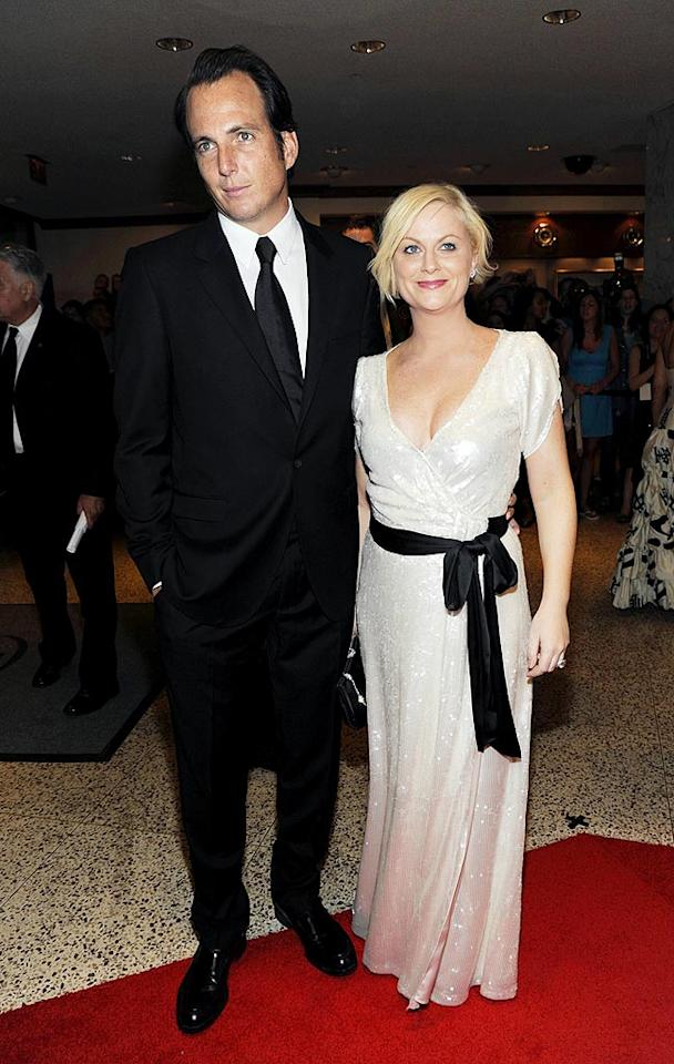 "Comedic couple Will Arnett and Amy Poehler got all glammed up for the event. Gene Young/<a href=""http://www.splashnewsonline.com"" target=""new"">Splash News</a> - May 9, 2009"