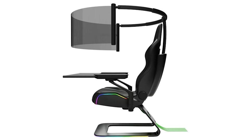 #CES2021: Razer unveils hi-tech mask, gaming chair with 60-inch screen