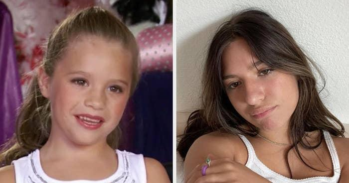 Then: A 6-year-old dancer at ALDC, best known for wishing she didn't have to dance and could stay home and eat chips instead.Now: Kenzie has started acting and singing. She released her first album,Phases, in 2018 and has since collaborated with Sia on a song called