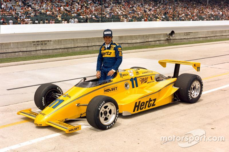 "1985 - CART: Al Unser (March-Cosworth 85C)<span class=""copyright"">Indianapolis Motor Speedway</span>"