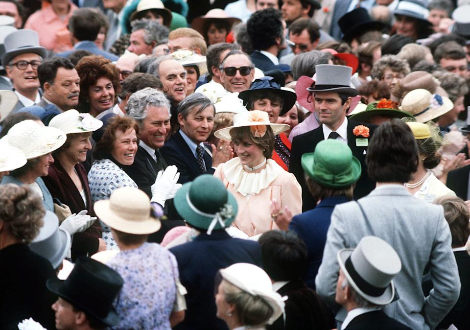 Lady Diana Spencer makes her Royal Ascot debut in 1981. [Photo: PA]