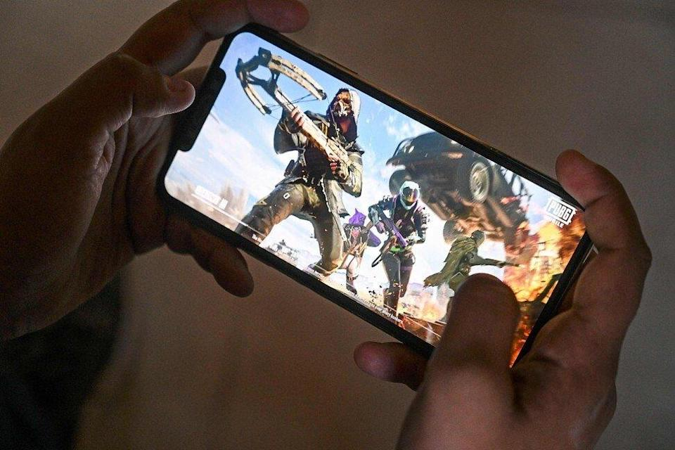 Tencent owns some of the biggest mobile games in the world, including PUBG Mobile (pictured), Honour of Kings and Call of Duty: Mobile. Photo: AFP