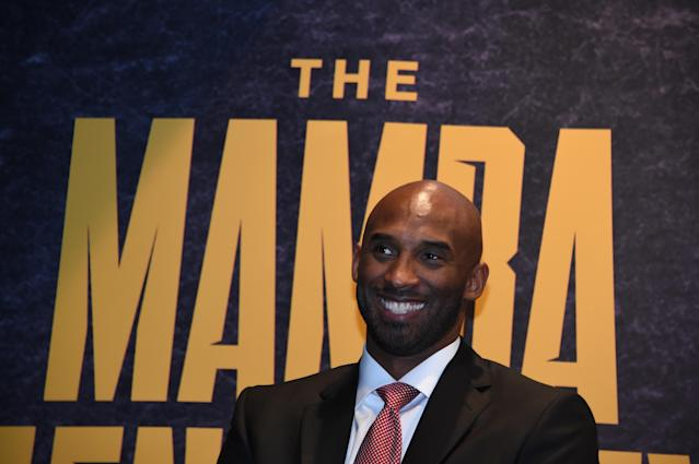 """<a class=""""link rapid-noclick-resp"""" href=""""/ncaaf/players/285862/"""" data-ylk=""""slk:Kobe Bryant"""">Kobe Bryant</a> is bringing the 'Mamba Mentality' to thousands of young athletes. (Photo by Juan Ocampo/NBAE via Getty Images)"""