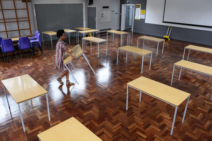 <p>Schools are facing a number of issues before they return next month</p> (Getty)