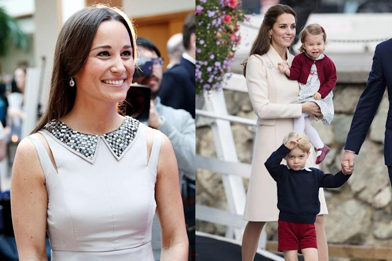 Princess Charlotte and Prince George Have Their Official Assignments for Pippa Middleton's Wedding