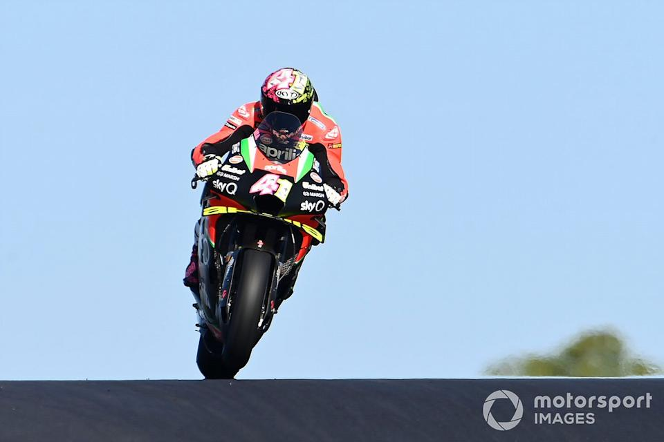 "P14 Aleix Espargaró, Aprilia Racing Team Gresini<span class=""copyright"">Gold and Goose / Motorsport Images</span>"