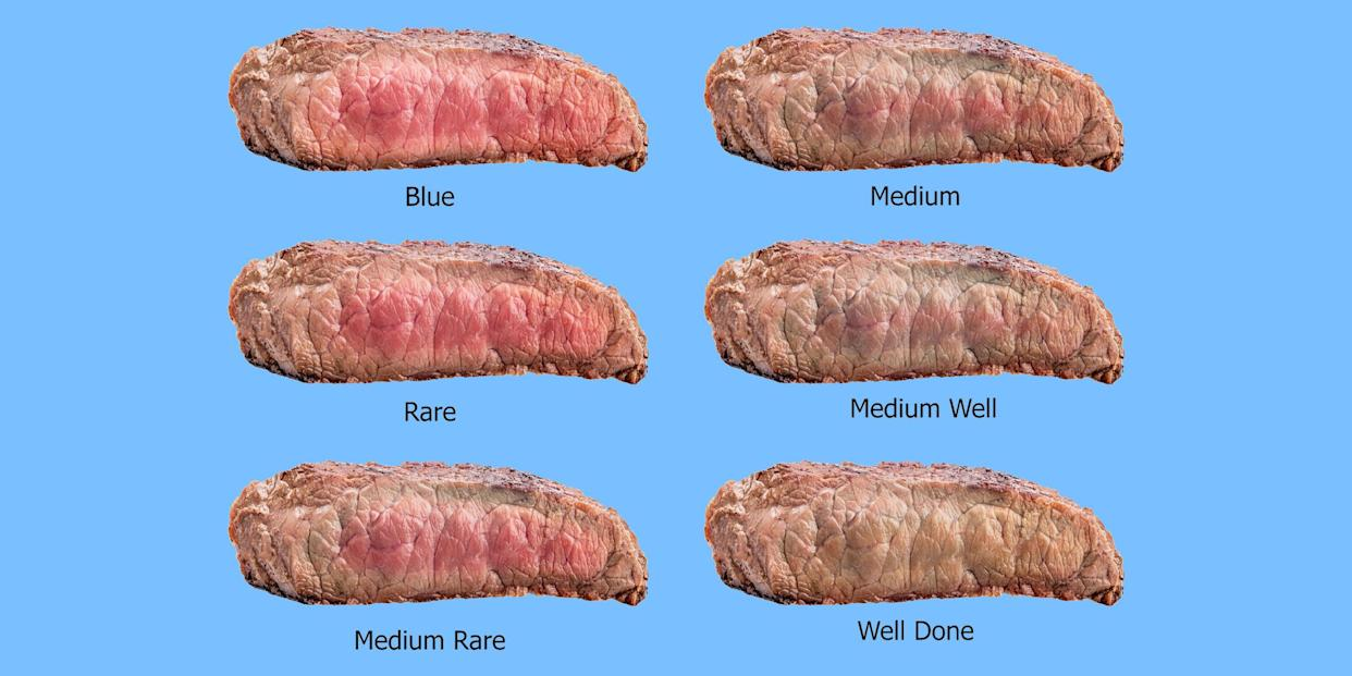 Judging meat doneness only by its color is one of the most common food handling mistakes home cooks make — use a meat thermometer.  (Alamy)