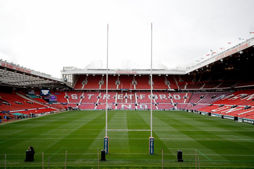 Old Trafford was due to host the finals of the men's and women's tournaments (Martin Rickett/PA) (PA Archive)