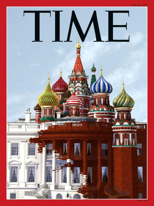 time magazine russia white house