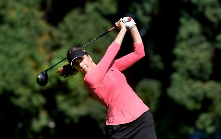 Hall holds off Buhai in playoff for LPGA Portland title