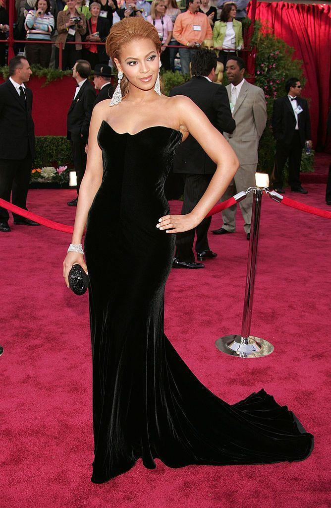 <p>The superstar's first Oscars were memorable for a whole host of reasons, from one of her first public appearances with Jay-Z to her red carpet perfect Versace black dress to her performance at the show where she sang a medley of songs.</p>