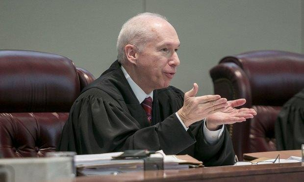 New Jersey Supreme Court Justice Barry Albin