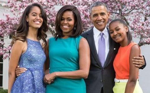 The Obama family - Credit: Twitter/Barrack Obama