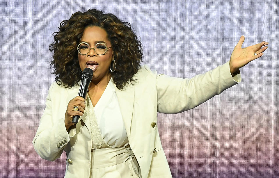 Oprah Winfrey is facing backlash over the 2004 interview. (Getty Images)